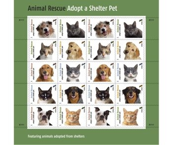 Buy Stamps for Food for Shelter Animals
